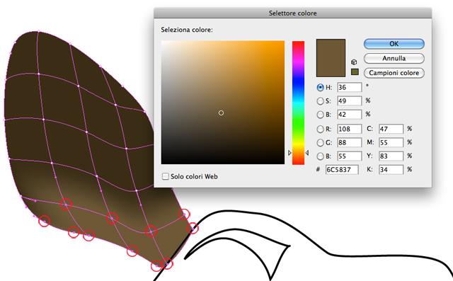Punti trama colore