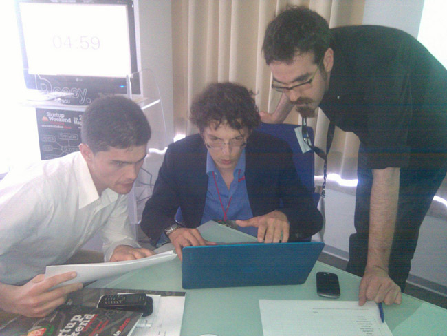 organizzatori startup weekend catania