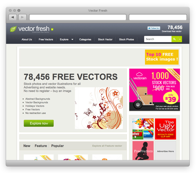 Vectorfresh