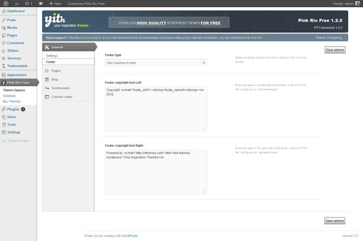 PinkRio Tema WordPress FREE minimal e responsive 03