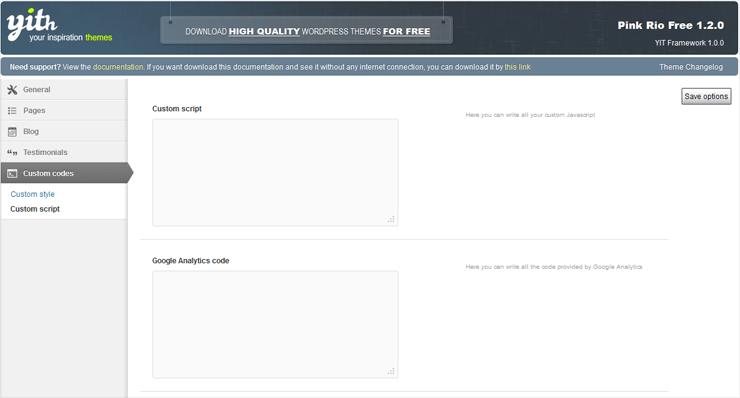 PinkRio Tema WordPress FREE minimal e responsive 11b