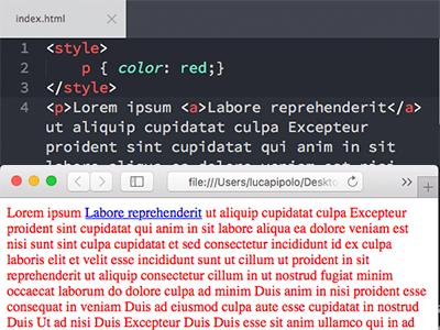 Regole CSS browser